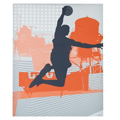 Most Valuable Decal Poster (Basketball)