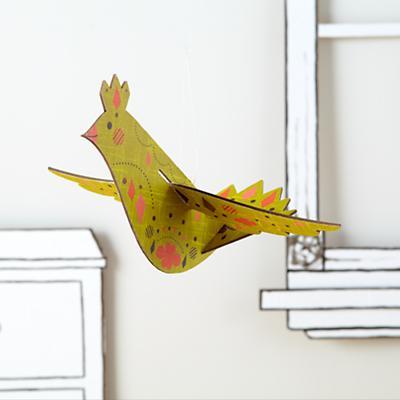Hang Your Bird High (Yellow)