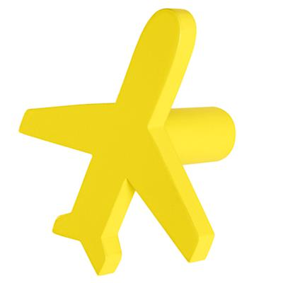 Can't Miss Airplane Knob (Yellow)