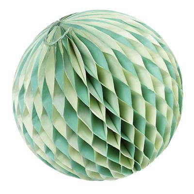 Large Well Rounded Paper Ball (Green)