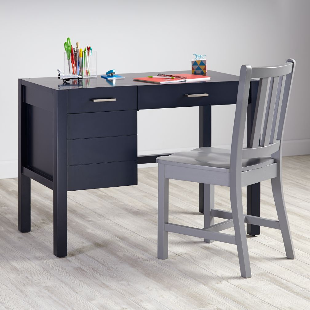 Uptown Desk (Midnight Blue)