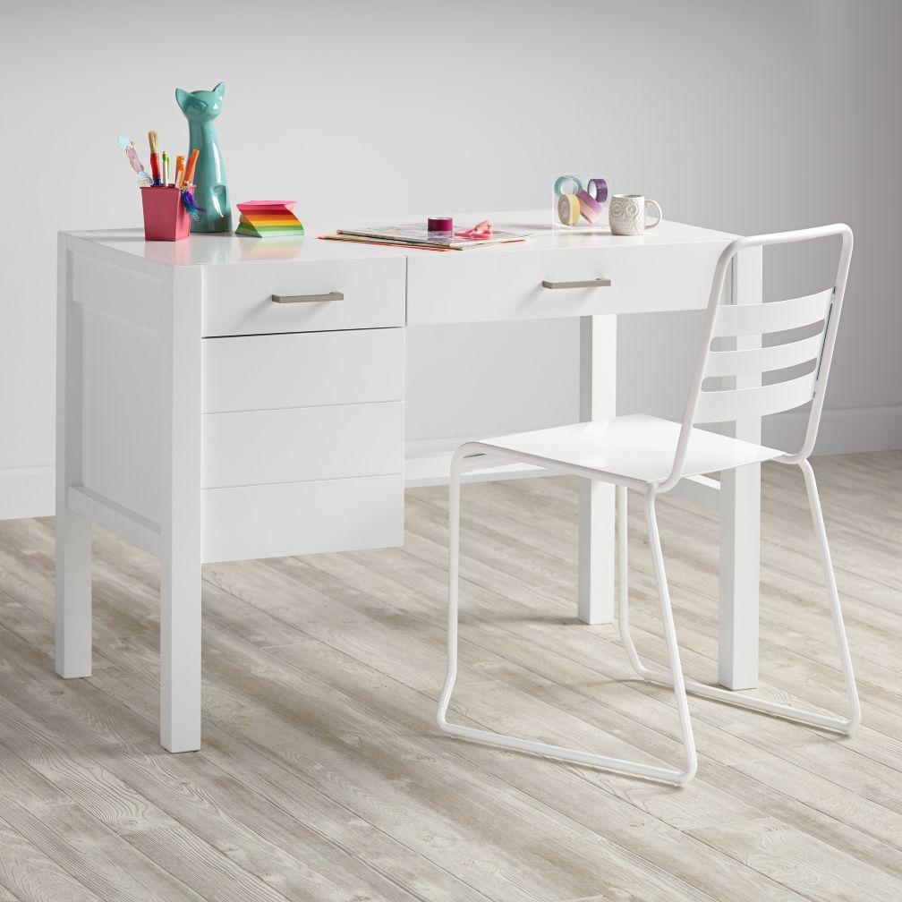Uptown Desk (White)