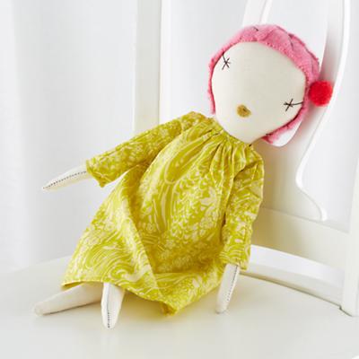 Jess Brown Pixie Doll Lotus
