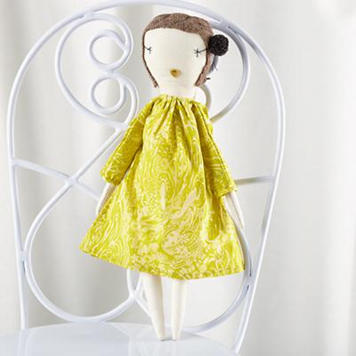 Jess Brown Pixie Doll Paisley