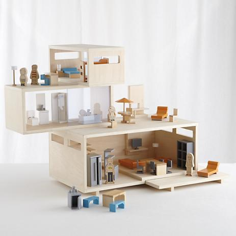 love this modern doll house even the dolls are hip 349 modern doll