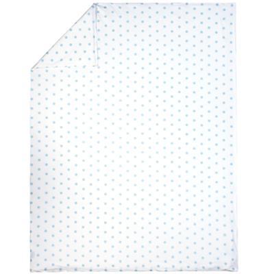 Blue Pastel Dots Duvet Cover (Twin)