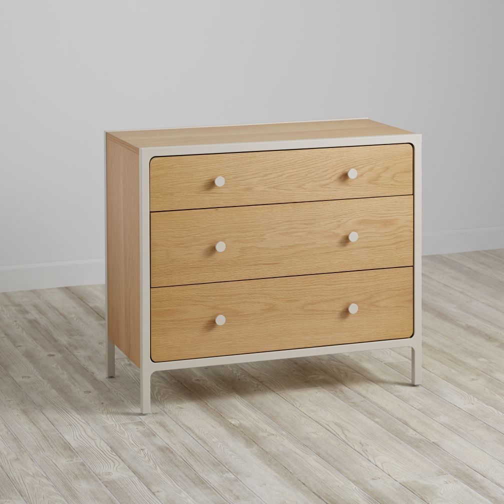 Larkin 3-Drawer Dresser (Stone)