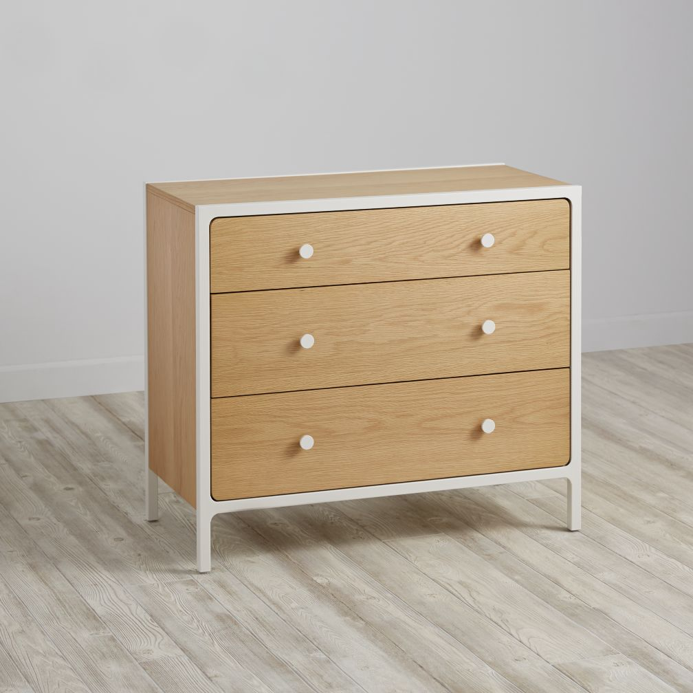 Larkin 3-Drawer Dresser (White)