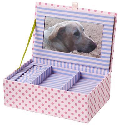 Pink Dot Jewelry Box