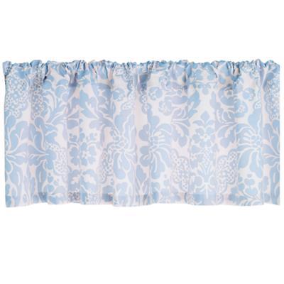 Wallpaper Floral Valance (Blue)