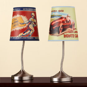Bent But Not Broken Lamp Shade (Football)