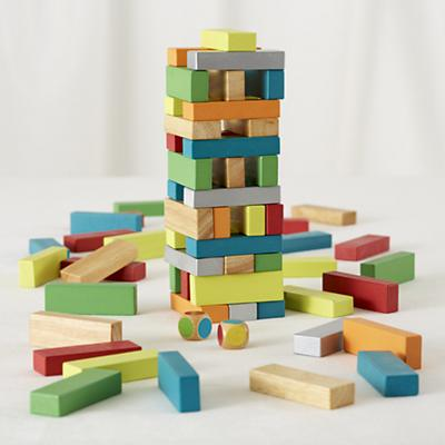 Don't Let the Blocks Drop Game