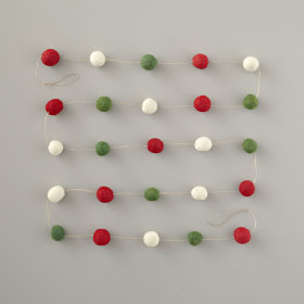 Goody Gumball Garland (Christmas)