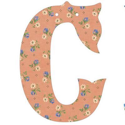 C Fancy Font Wallpaper Letter