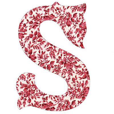 S Fancy Font Wallpaper Letter