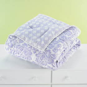 With a Flourish Comforter (Lavender)
