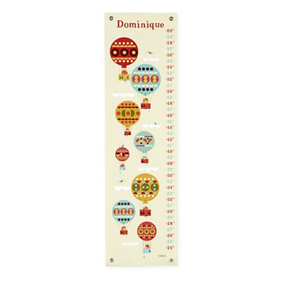 Personalized Hot Air Balloon Growth Chart