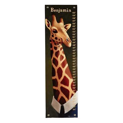 Personalized Tall Giraffe Growth Chart