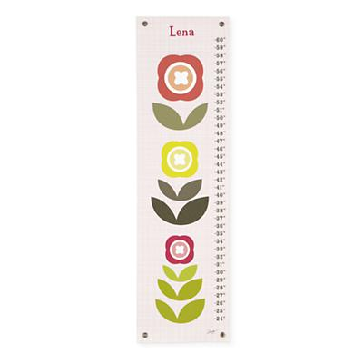 Personalized Modern Bloom Growth Chart