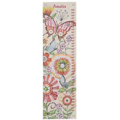 Personalized Mariposa Garden Growth Chart