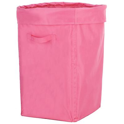 I Think I Canvas Hamper (Pink)