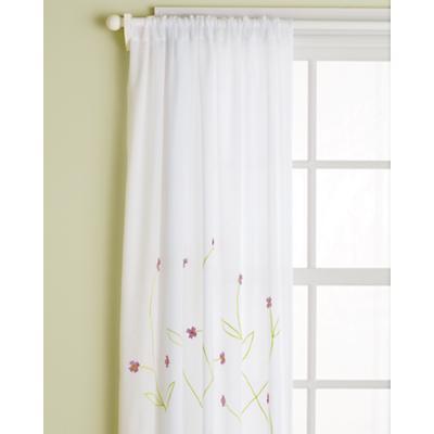 "63"" Hanging Garden Curtain Panel (Lavender)"