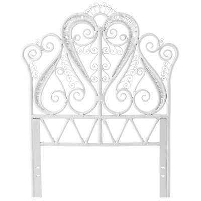 Twin Aria Headboard (White)