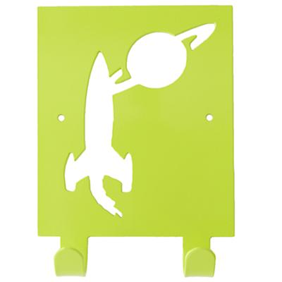 Waste No Space Wall Hook (Green)