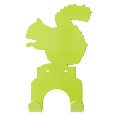 Squirrel Wall Hook (Green)
