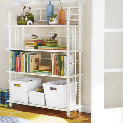 Jenny Lind Bookcase (White)