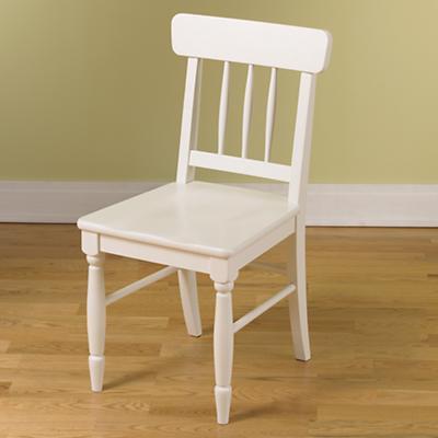 Jenny Lind Desk Chair (White)