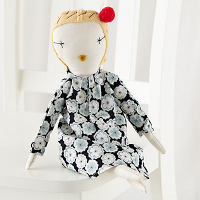 "17"" Jess Brown Doll Bebe"