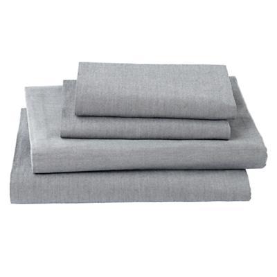 My Grey Chambray Sheet Set (Queen)