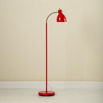 Bright Idea Floor Lamp (Red)