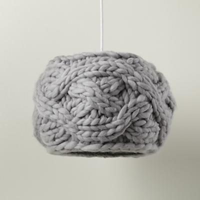 Cardigan Pendant Lampshade (Grey)