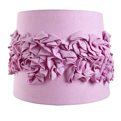 Ruffled Table Shade (Purple)