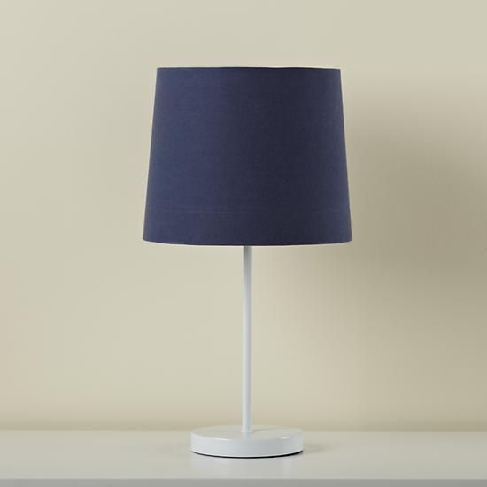 light years table lamp shade dk blue. Black Bedroom Furniture Sets. Home Design Ideas