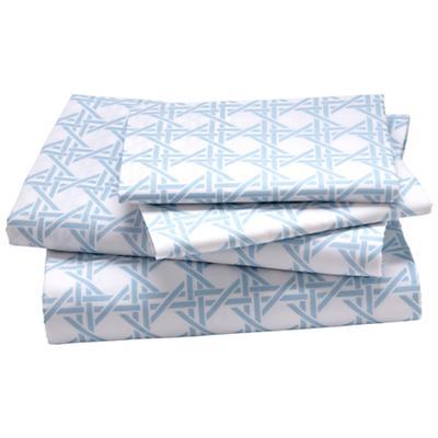 Blue Lattice Sheet Set (Full)