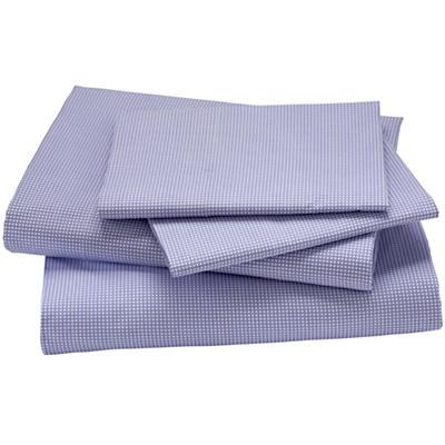 Queen Grid Sheet Set (Lavender)