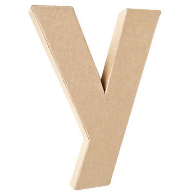 Y Crafty Kraft Paper Letter