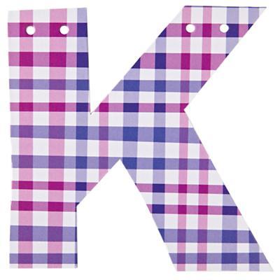 K Spell Ya Later Girl Letter