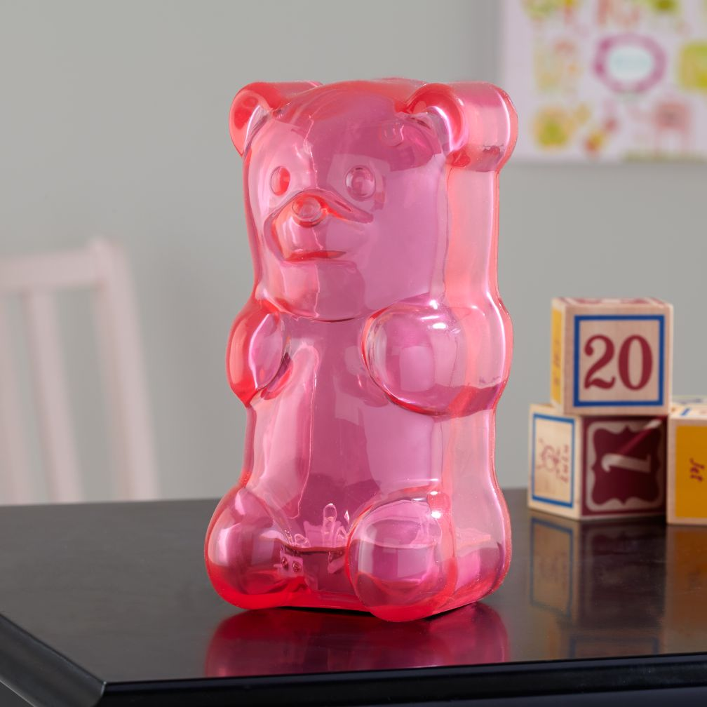 Gummy Bear Nightlight (Pink)