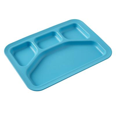 Blue Cafeteria Tray