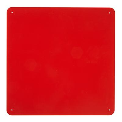 "15"" Red Square Magnet Board"