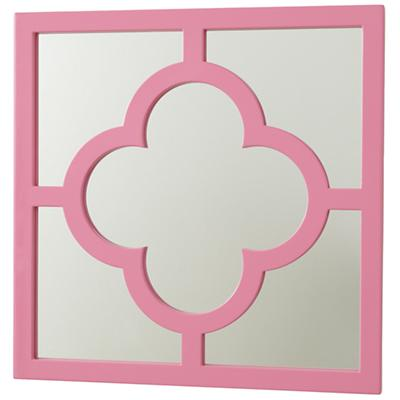 My Lucky Four Leaf Mirror (Pink)