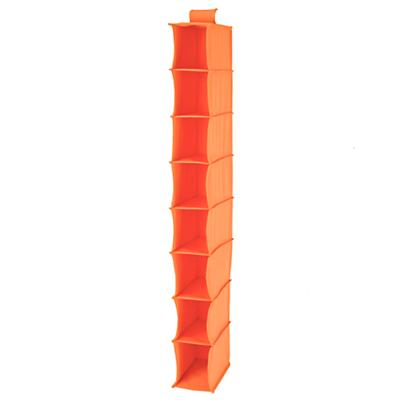 I Think I Canvas Narrow Hanging Organizer (Orange)