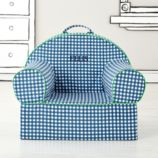 Executive Nod Chair (Blue Gingham)