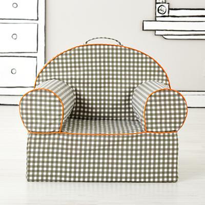 Executive Nod Chair (Grey Gingham)