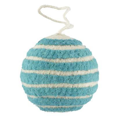 Bright Stripes Ornament (Aqua)