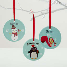 You Name It Ornaments by Jenn Ski and Amy Blay